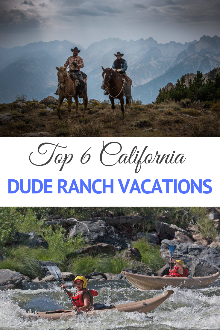 California dude & guest ranch vacations offer accommodations and itineraries that are exciting for the whole family or solo traveler. Horseback riding through mountains and meadows makes guests forget about the stereotypical beaches and crowds of California's big cities. Guests see this undiscovered side at a dude ranch. Life at the ranch creates a sense of calm any traveler can appreciate with well-appointed cabins, rocking chairs and hot coffee.