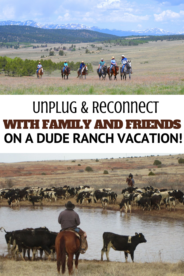 You may feel like you need to be connected to your electronic devices, but you don't! See why dude ranches are the perfect