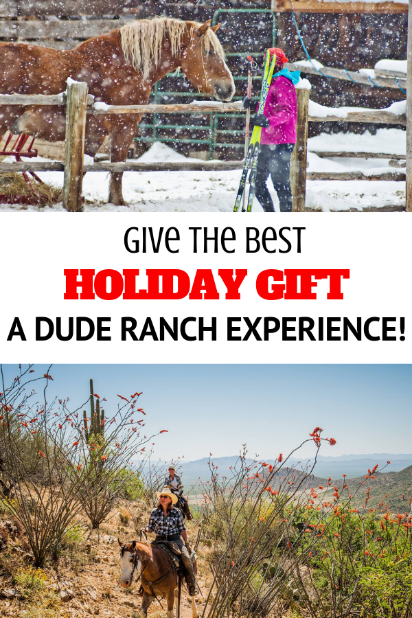 The best holiday gift does not often sport a designer logo, nor does it come from a big box store.  Some of the most celebrated gifts are experiences that provide long-lasting, meaningful memories. This season, gather your loved ones and retreat to the tranquil surroundings of a Western dude ranch.