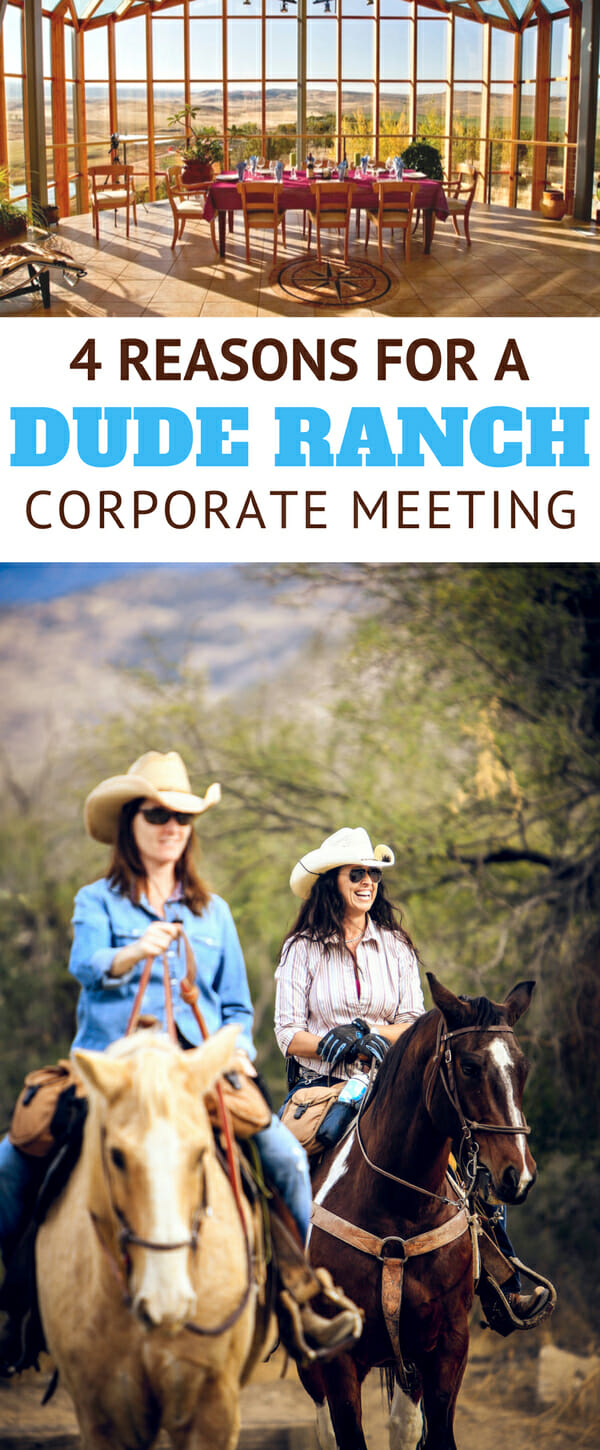 With the participants sequestered in remote locations, wrapped in spectacular scenery, and free from distractions, Western dude ranches are becoming an increasingly attractive venue for corporate meetings and conferences. Not just any ranch, but a member of The Dude Ranchers' Association.