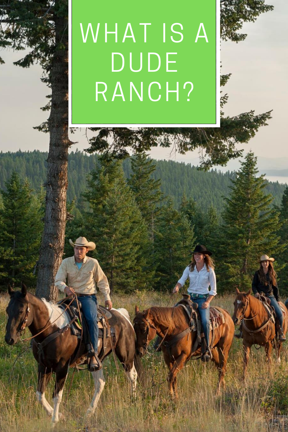 What is a guest ranch