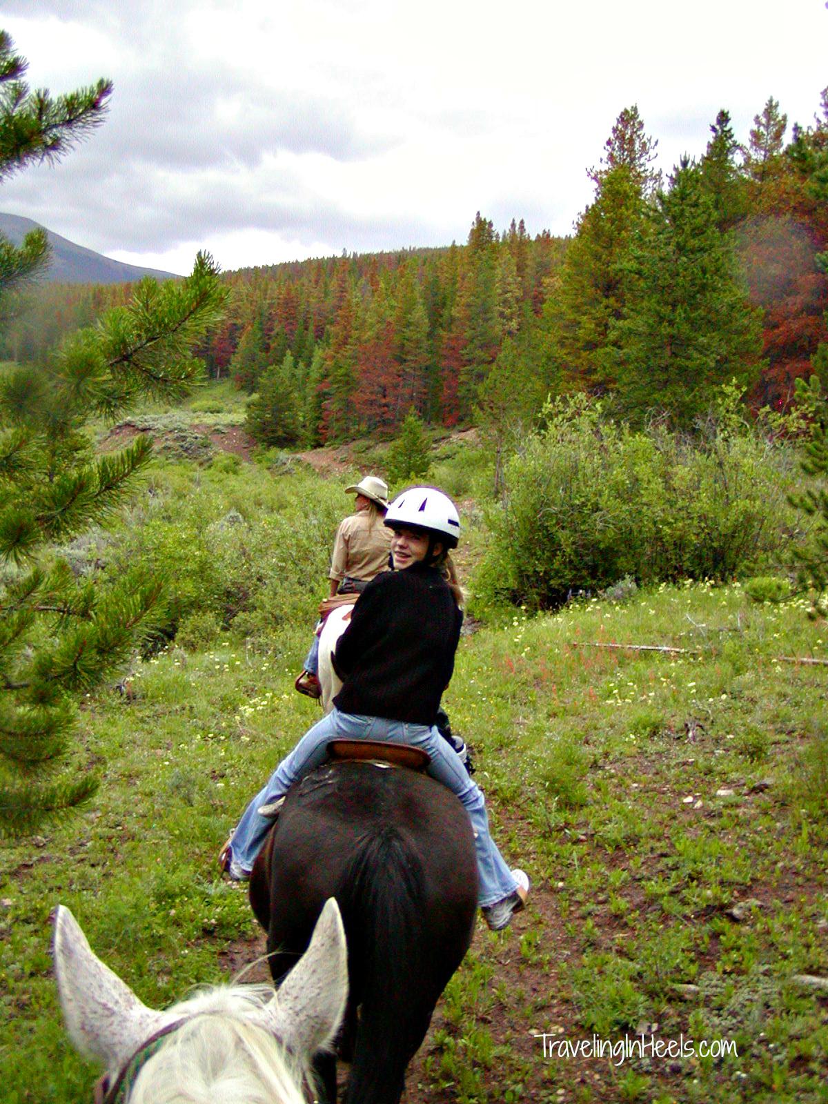 Colorado Dude Ranch Family Vacation
