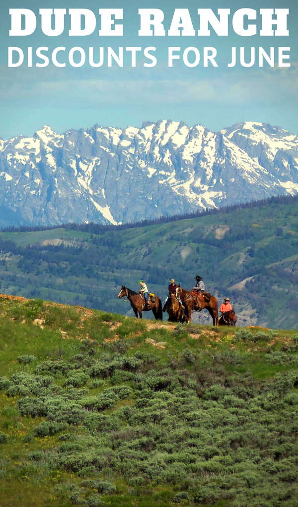 If you are looking for a dude ranch vacation with affordable discounts for this June look at these specials from the member ranches of the Dude Ranchers' Association. On top of being a budget and cost effective type of vacation, the dude ranches listed at the link below are offering special discounts for June.