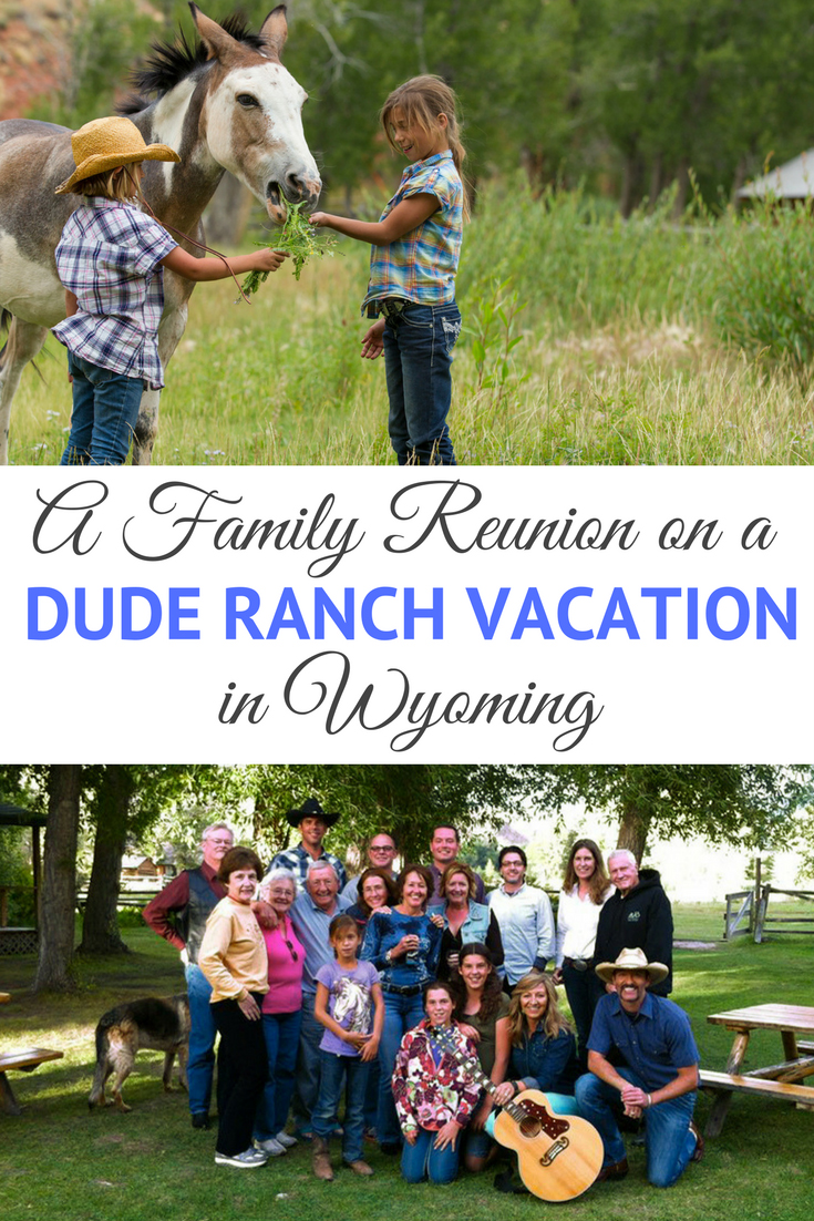 Wyoming has a lot to offer for a family reunion, especially at a member dude or guest ranch of the Dude Ranchers' Association. With two world famous national parks, mountain ranges with panoramic vistas and every type of outdoor activity, Wyoming epitomizes the Western adventure vacation. On a dude ranch family reunion you can experience all this in a schedule (or lack thereof) for all ages of your family.