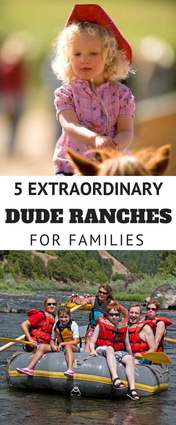 There's one vacation category where extraordinary families can simply park the car, unpack their bags and settle in for a week of jam-packed action. It's the Western dude ranch, a place where folks don't have to think about what comes next because all the details are in place to let the good times roll!