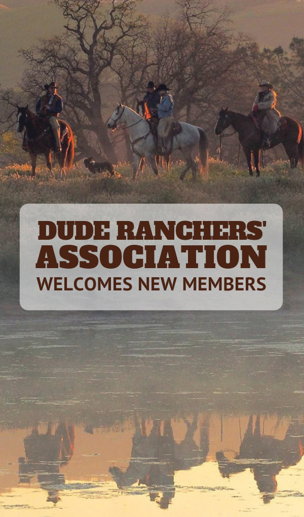 The Dude Ranchers' Association is the premier membership-based organization for dude ranches and has welcomed five new ranches in 2018. As a non-profit association, membership is not a pay to play process but a mark of the highest quality. Acceptance requires a rigorous two-year application process and distinguishes a ranch as one that guests can trust to provide excellent customer care and a horseback riding vacation of a lifetime.