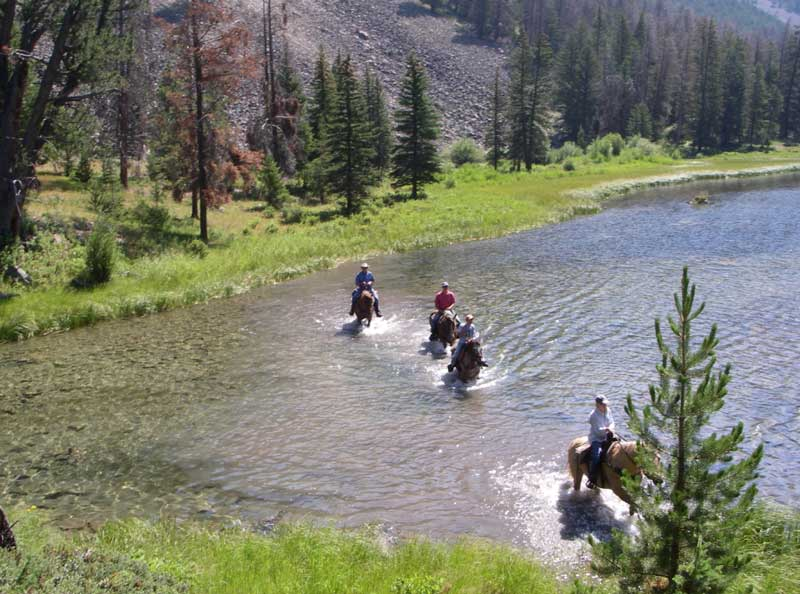 Flat-Creek-Ranch-Trail- Eco-tourism