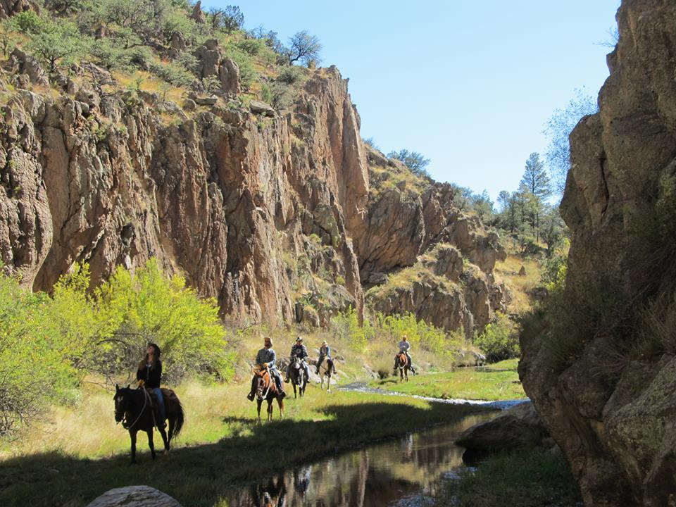 Geronimo Trail Ranch Best Dude Ranch Vacation in New Mexico