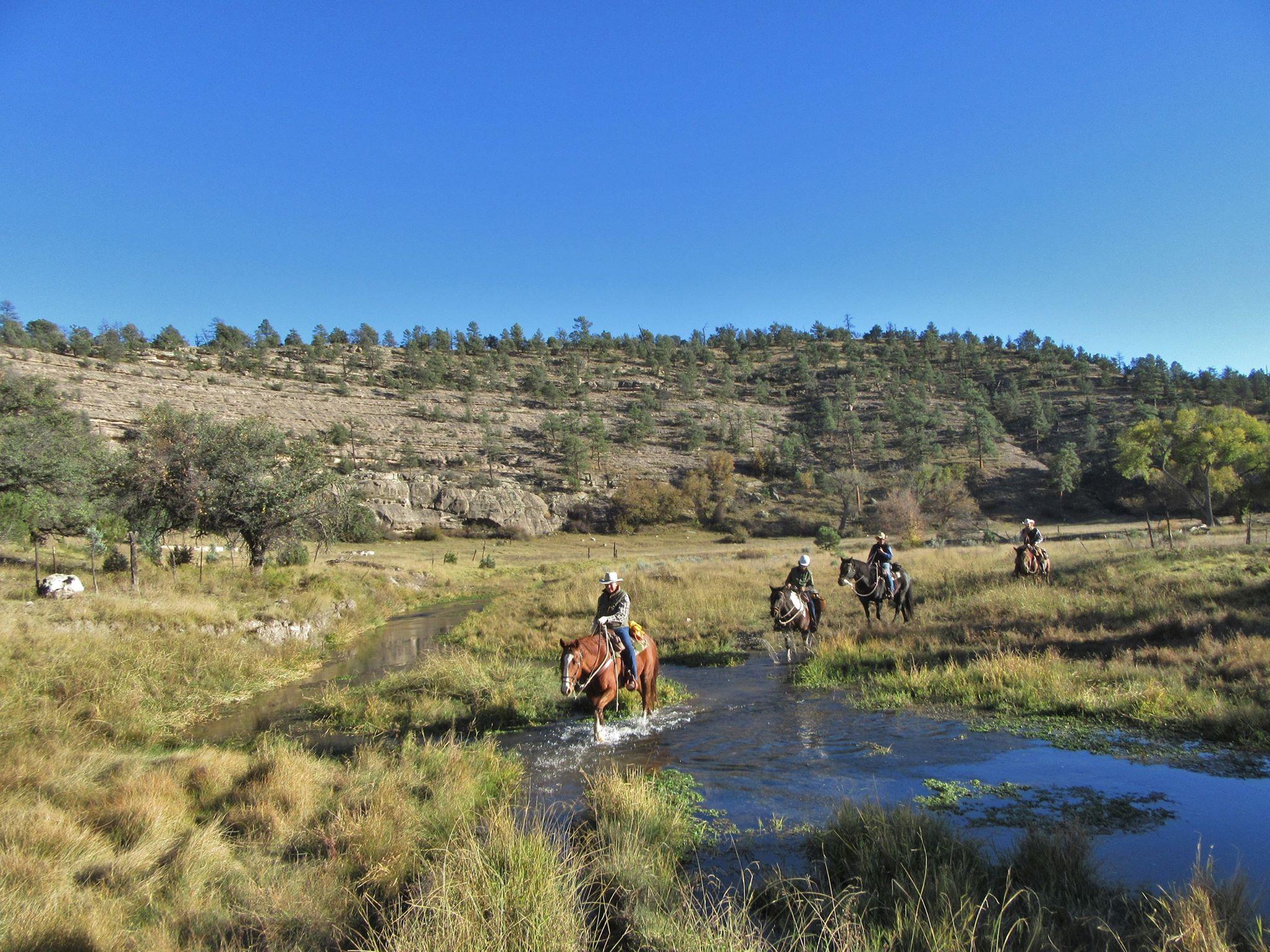Geronimo Trails Creek Crossing