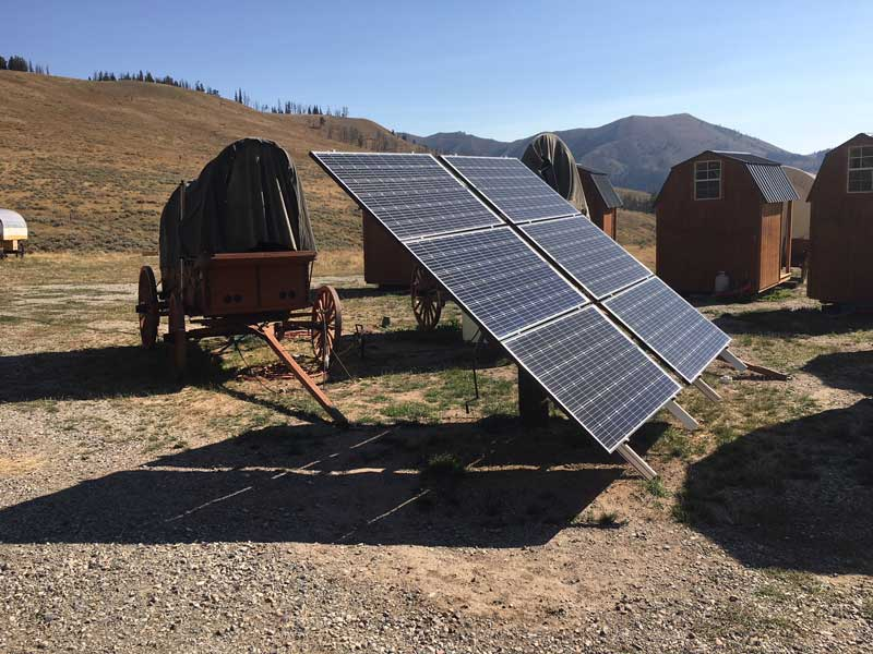 Goosewing-Ranch-Solar-Panels Eco-tourism