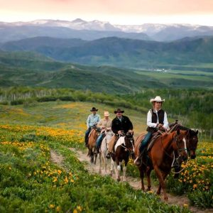 Home Ranch Trail Ride for Millenials