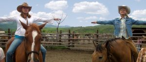 Home Ranch Yoga Horseback