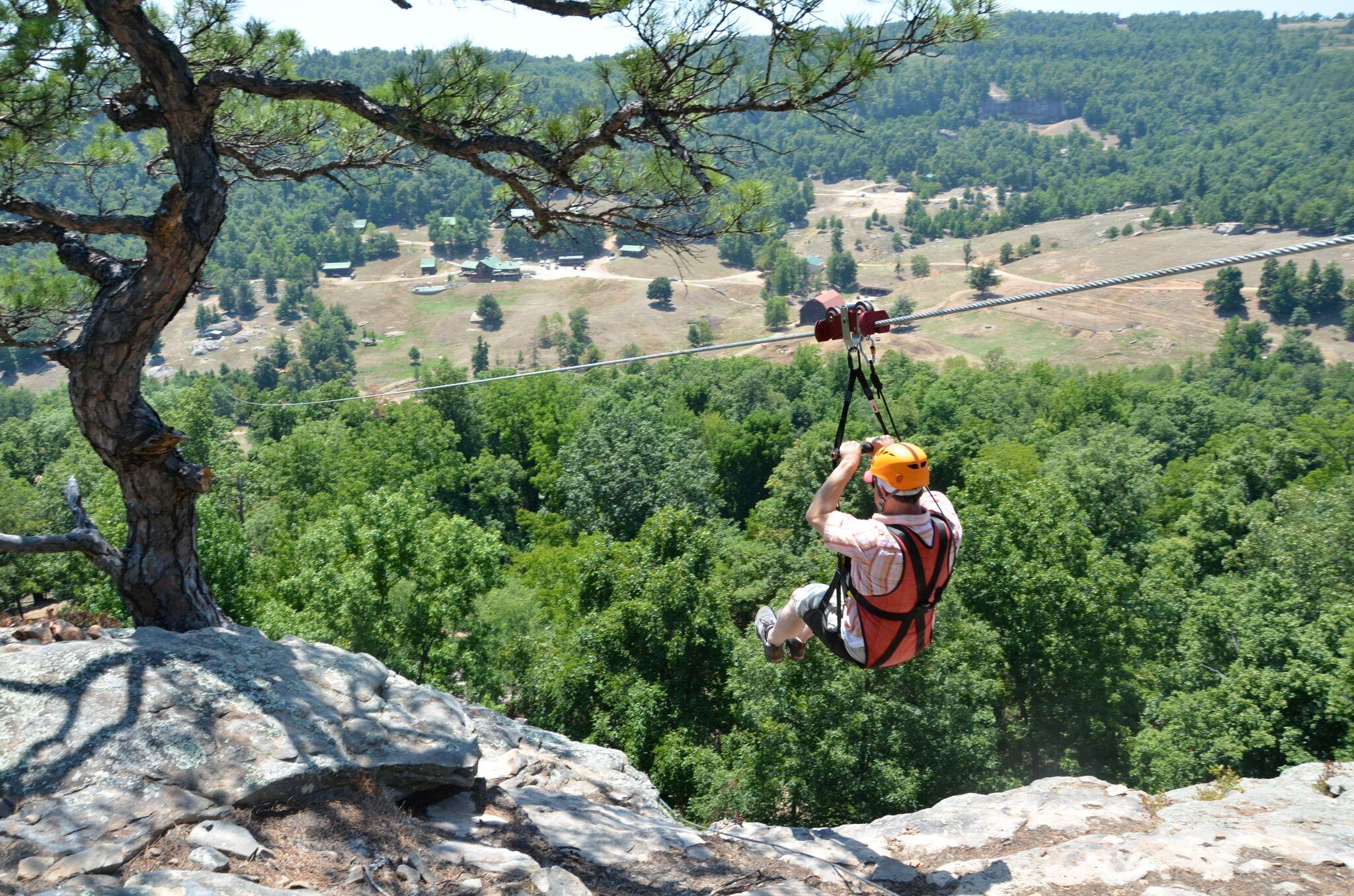Horseshoe Canyon-zip line
