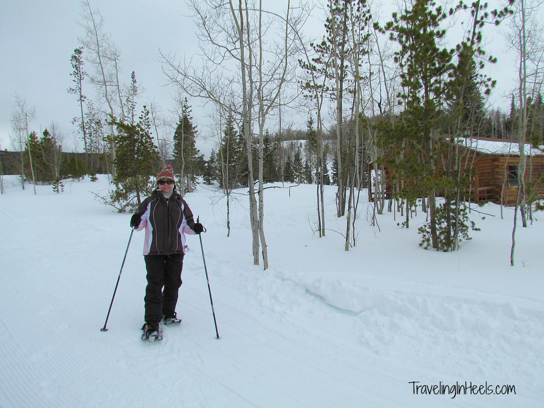 Snowshoeing at Latigo Ranch