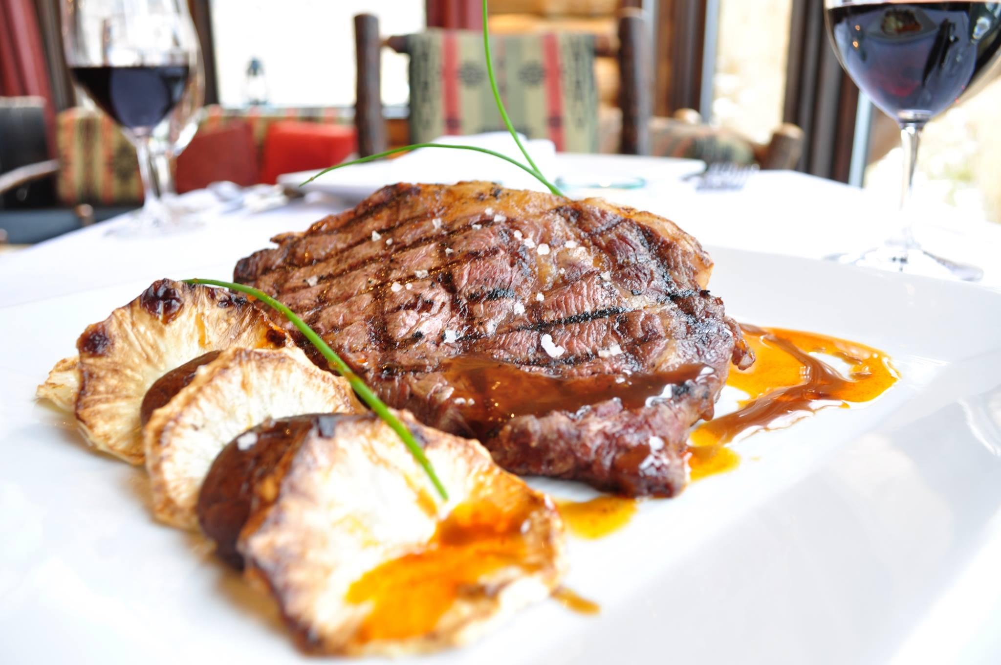 Lone Mountain Culinary Food Steak