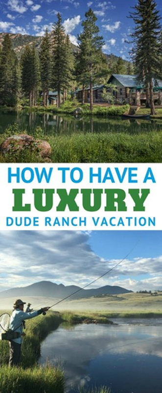 Can you have a luxury travel experience at a dude ranch? Yes! Today's modern all-inclusive and luxury ranches offer first class accommodations, food, activities, spas, and amenities. How to find the right ranch for your family vacation or couples getaway.