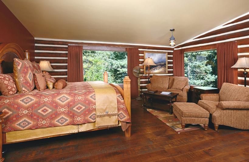 Luxury Ranch Vacation Bedroom