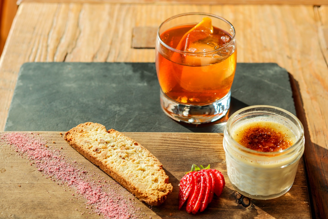 Dude Ranch Food Old Fashioned Creme Brule Lone Mountain Ranch