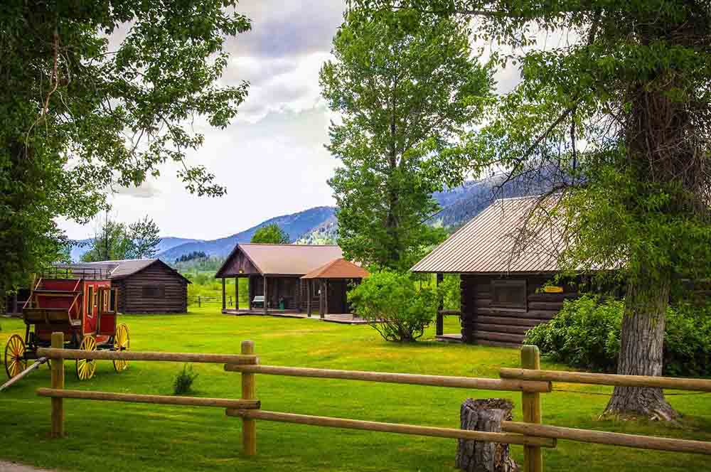 Parade Rest Ranch Near Bozeman Montana