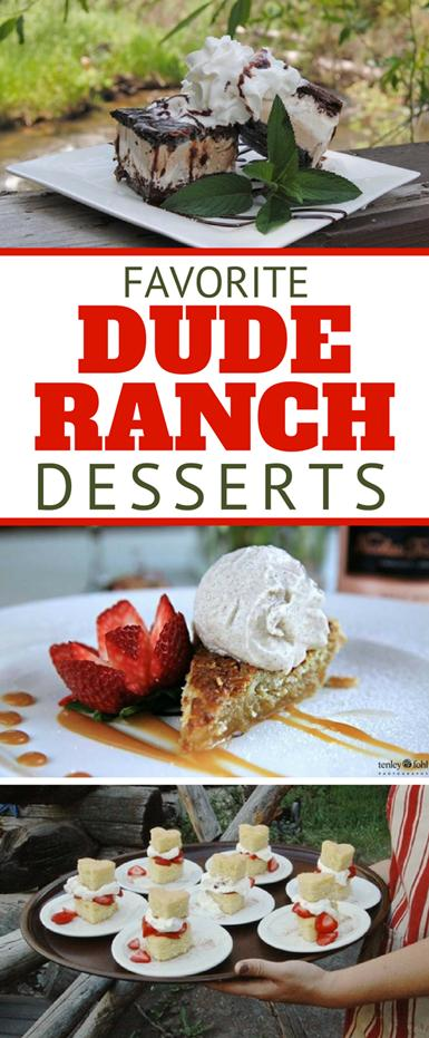 7 easy and delicious dude ranch dessert recipes from the chefs at some of America's top all inclusive ranches. Bring the taste of campfire cooking home with a luxury twist with favorites like strawberry shortcake, oatmeal pie, blueberry cornmeal upside-down cake, and several more.