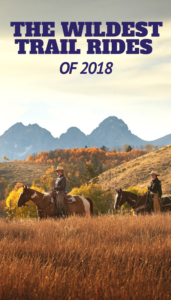 The National Dude Ranch Association (DRA) has over 10,000 trail rides throughout the Western United States and Canada. Travel across National Forest, BLM, private acreage and hundreds of miles of waterways that traverse high and low altitude, valley and mountain, desert and coast, with the wranglers of the DRA. However, of all these options, which is truly the wildest in 2018?