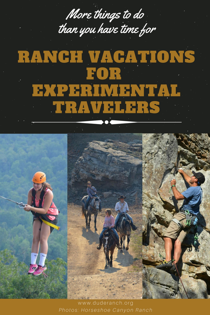 Looking for something new? Ranch vacations have become an alternative form of tourism for experimental travelers with adventure activities offered, starting with horseback riding.