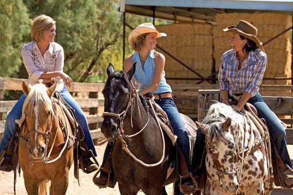 Rancho de los Caballeros Giddy-up Gals for Cinco de Mayo