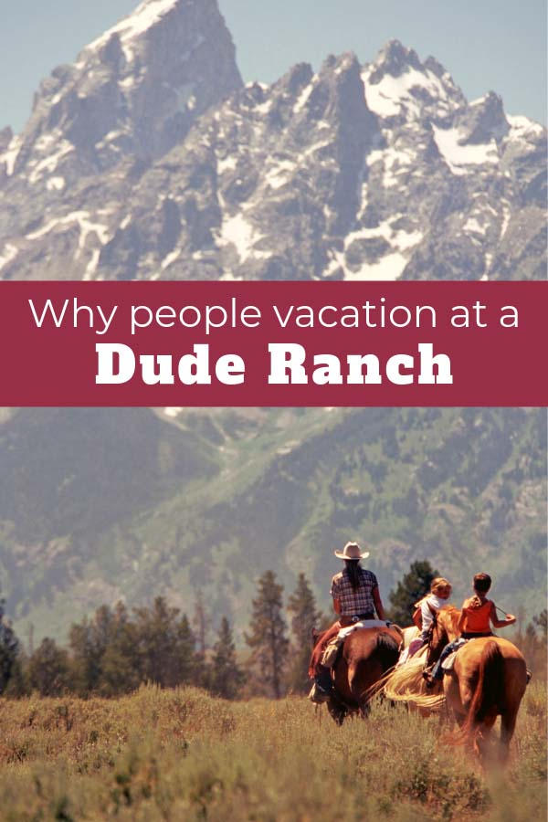 What makes people decide to go to a dude ranch on vacation? Well, there are a lot of different reasons as to why people visit a dude ranch, but below are the seven main reasons people choose a ranch vacation!