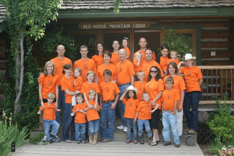Red Horse Mountain Ranch Family Reunion