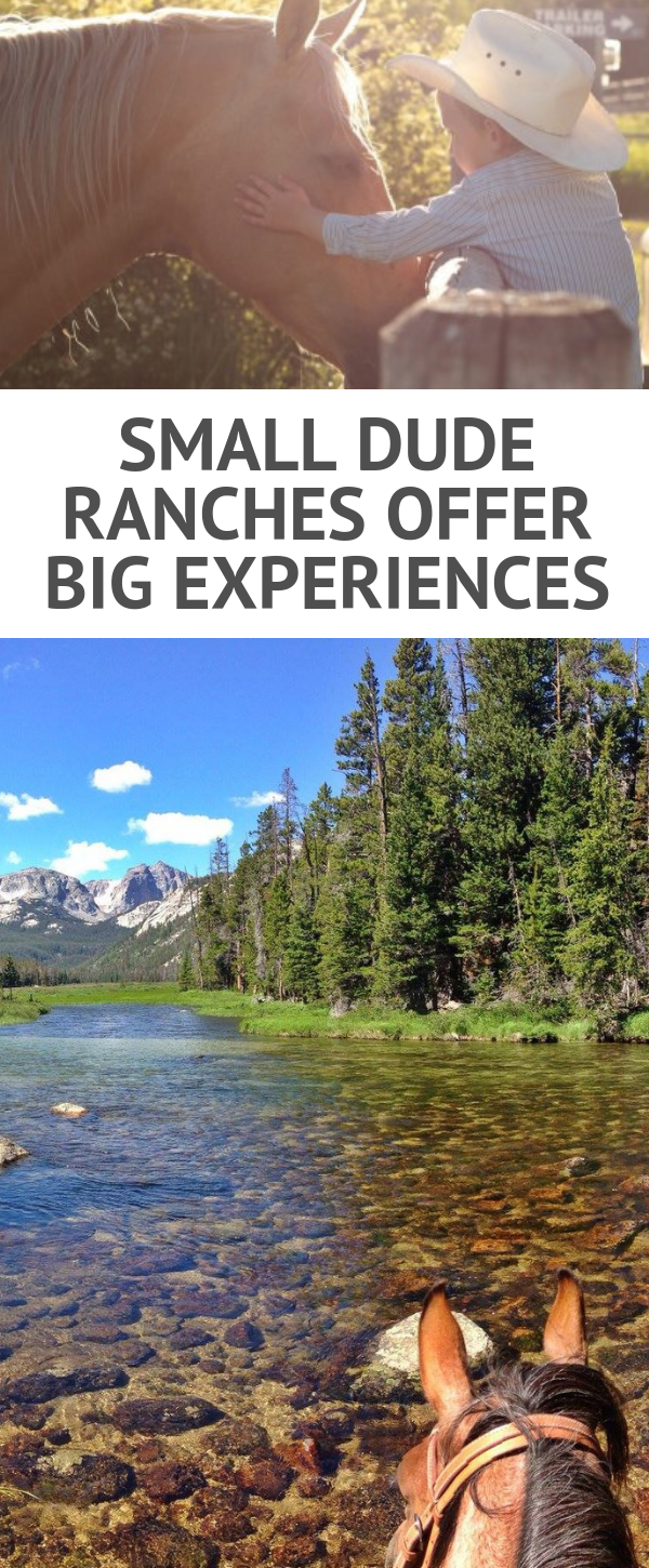 Make some memories you won't soon forget at one of these small dude ranches. Here you will find one of the most exclusive vacation settings in Western America. Please note, small does not mean they are short on experiences or activities. It means they only host a handful guests in order to offer you a very personal horseback riding vacation. In the list of dude ranches below you will find your perfect cowboy place, great for making genuine connections with the land, horses and your hosts.