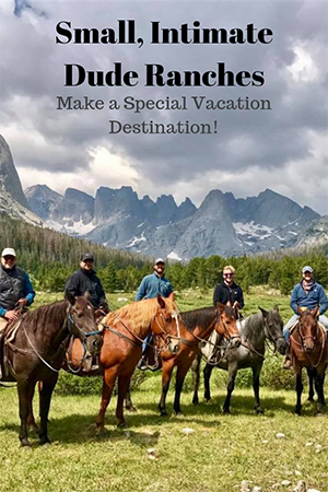 Quiet, relaxing vacations are highly sought after that is why small, intimate dude ranches are the perfect destination for a rejuvenating vacation!