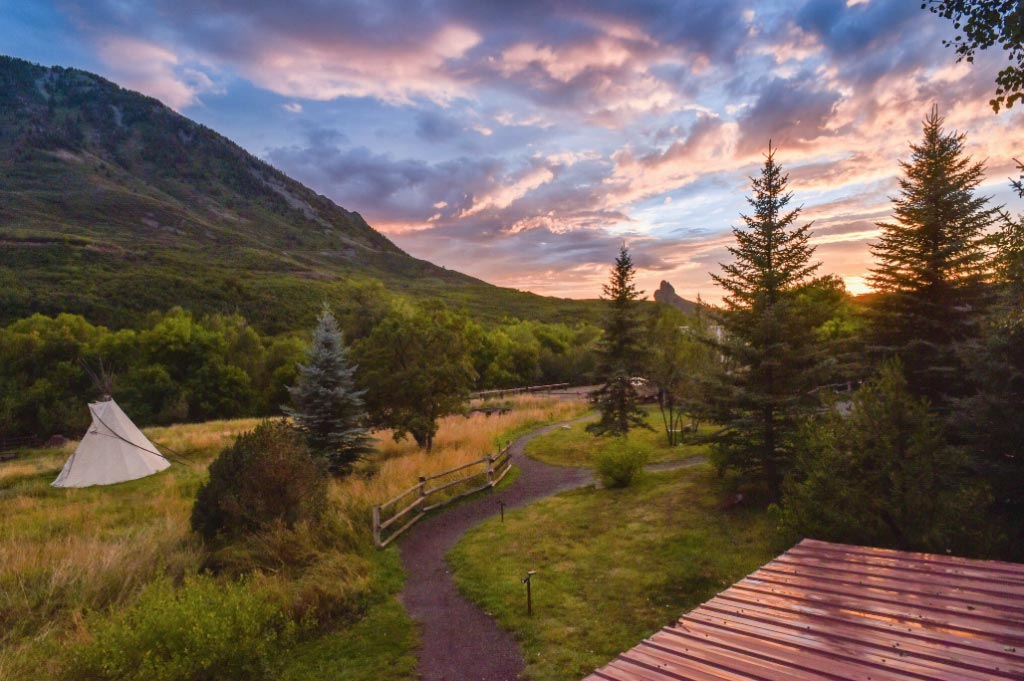 Smith Fork Ranch Camping Glamping all inclusive guest ranch vacation