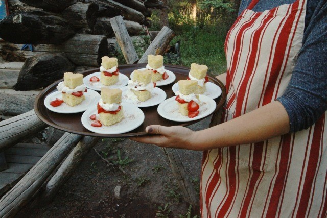 Strawberry Shortcake from Elk Mountain Ranch