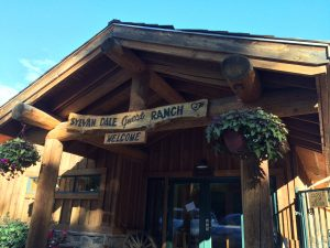 Sylvan Dale Ranch Welcome Sign Ranch Visit