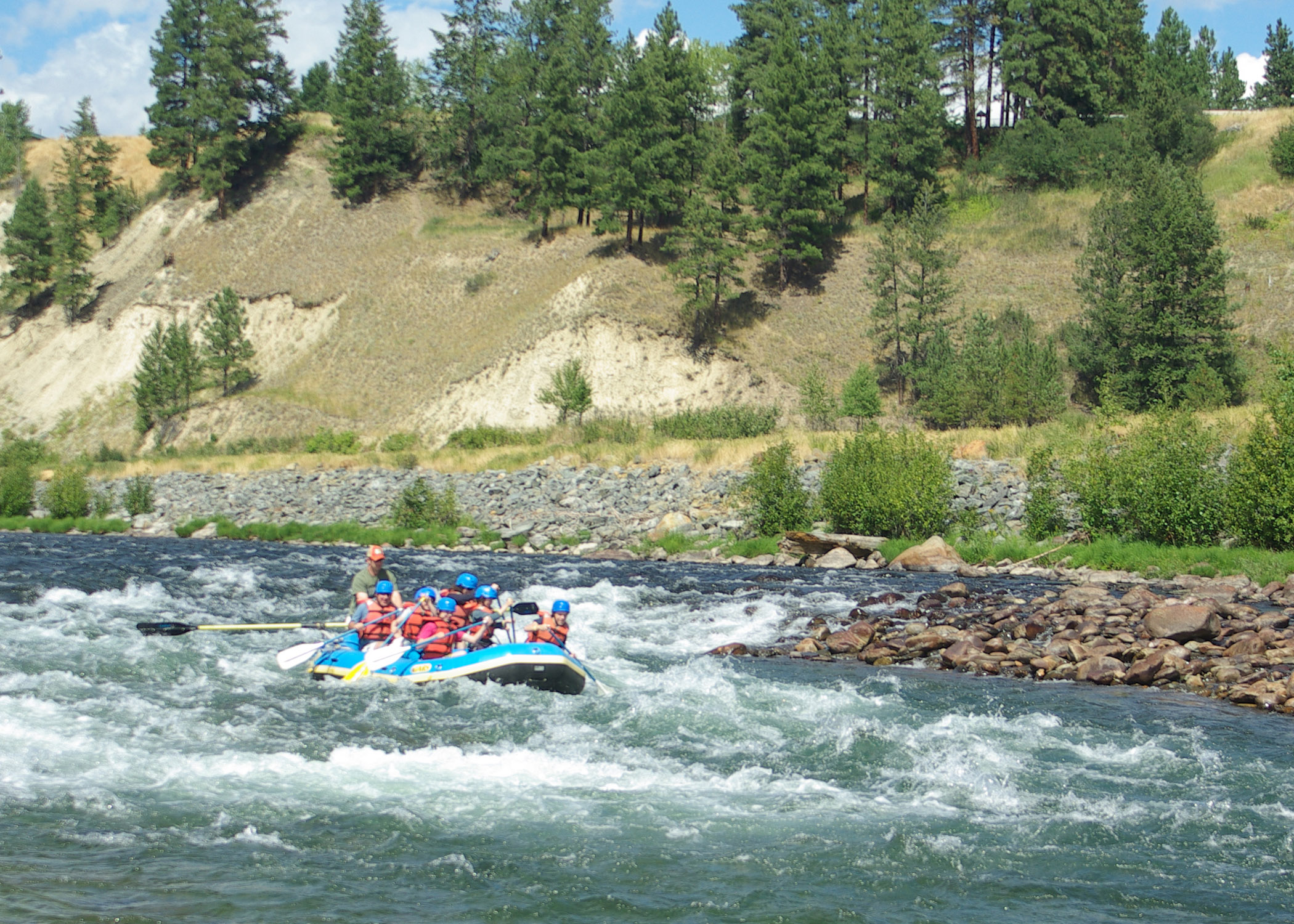 Three Bars Rafting Lodging Near Glacier National Park