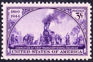 Train Travel Stamp