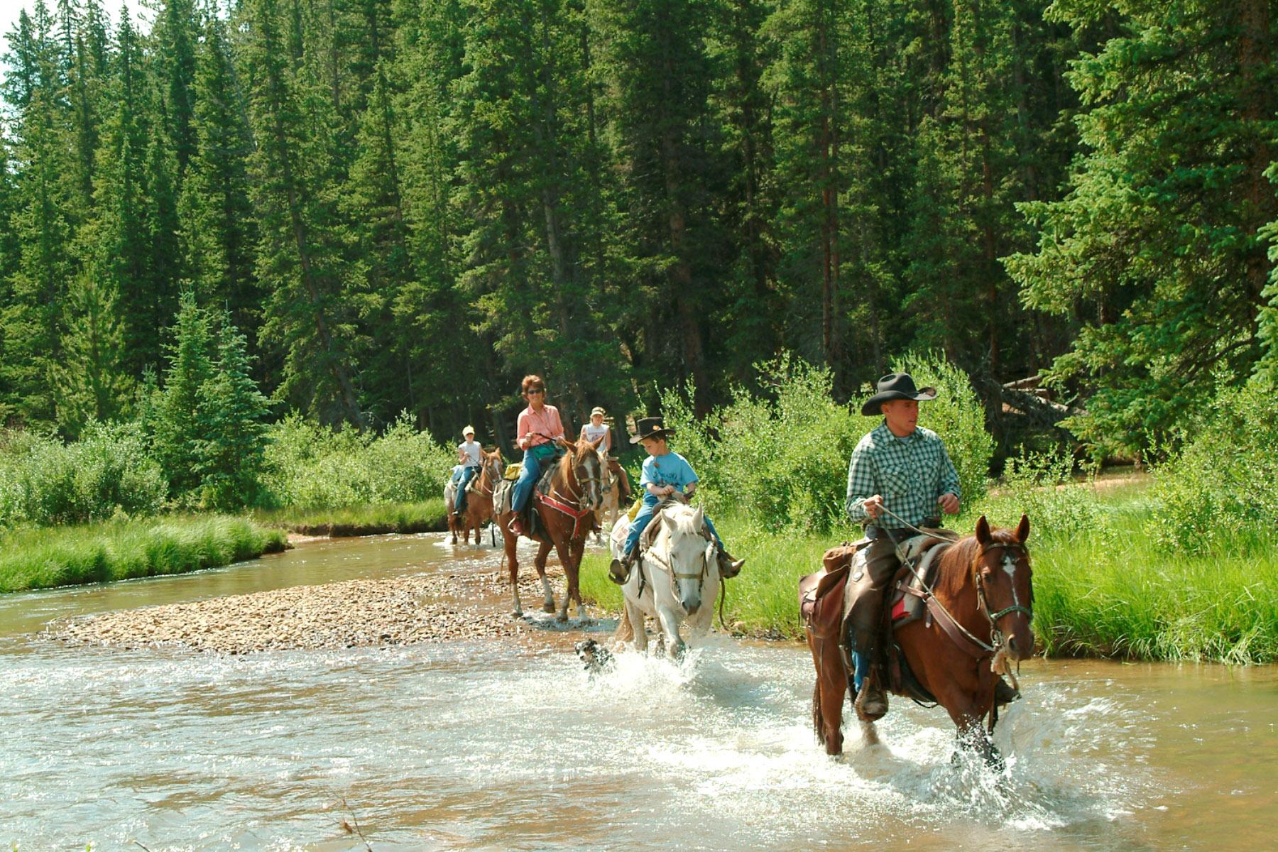 Tumbling River Creek Crossing Family Ranch Vacations