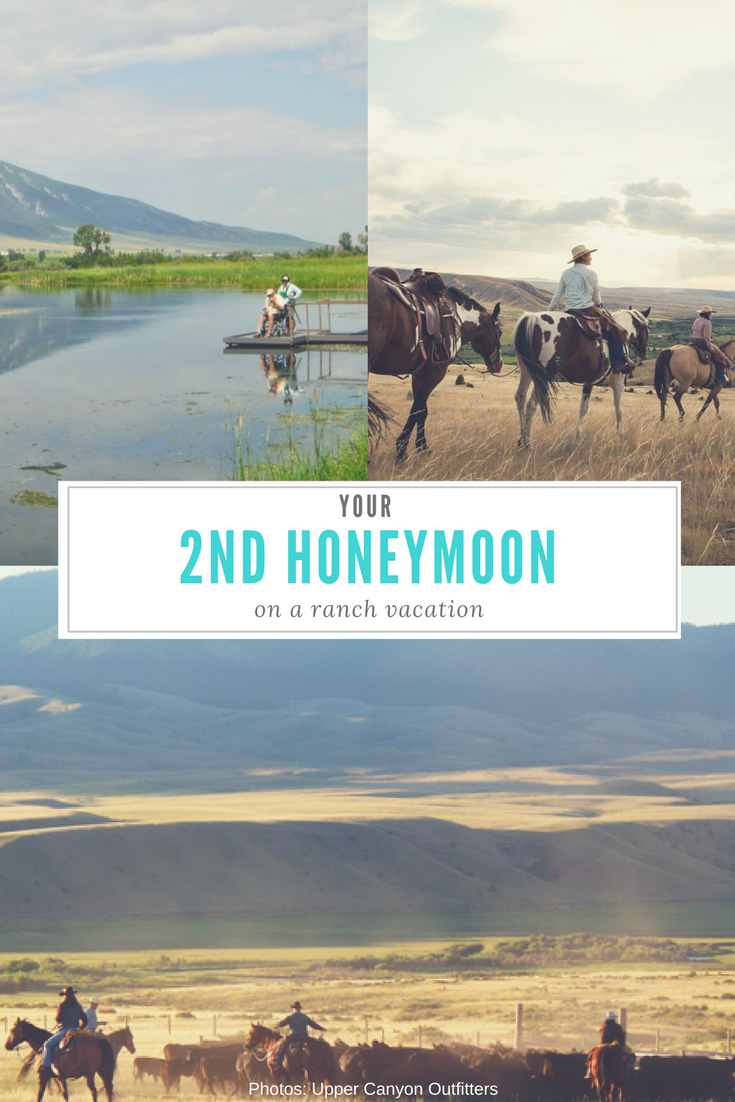 This summer, while the kids are singing around the campfire at camp, take the time to rekindle romance on a second honeymoon at a ranch vacation.