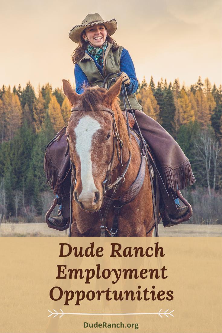 Dude Ranch Employment