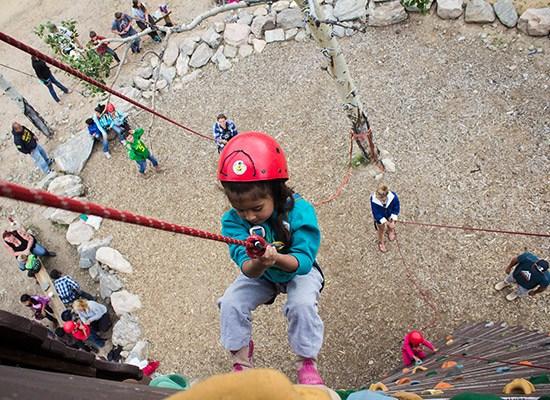 Wind River Rock Climbling Kids Program