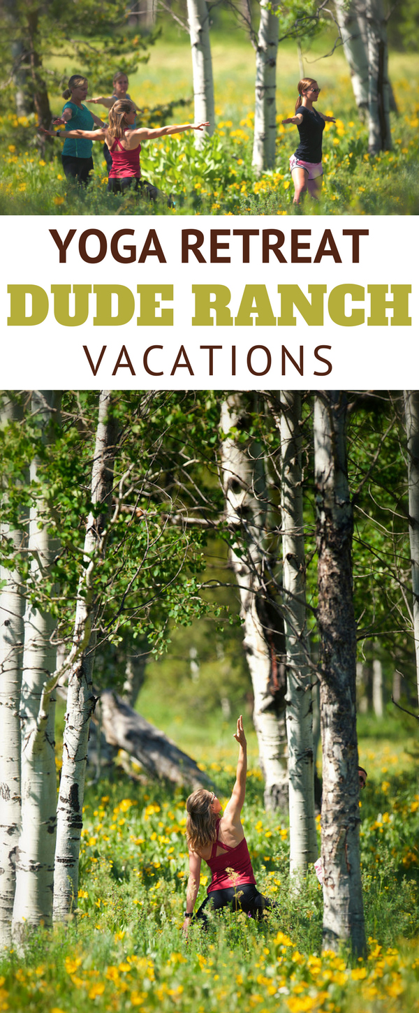 You may be an experienced yogi or just like to wear yoga pants, either way take a look at these ranches to find the right amount of yoga on a dude ranch vacation. You may only want a couple of classes during your week stay or a full immersion week of yoga.