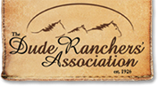 The Dude Ranchers Association logo
