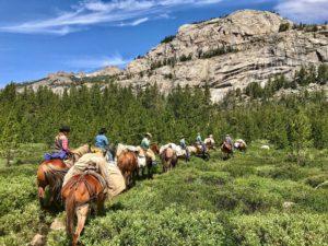 Wyoming Pack Trip
