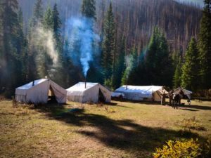 Pack Camp Tents