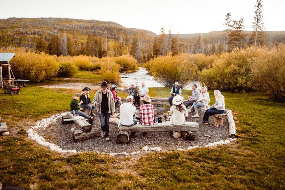 Rawah Ranch Campfire Gathering