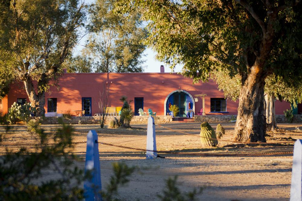 Rancho de la Osa outside of lodge