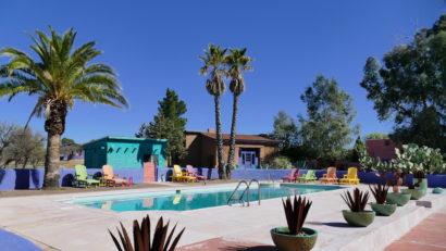 pool at rancho de la osa